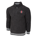 SD Spear Sherpa 1/4 Zip Sweatshirt-Black