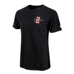 SD Spear & SDSU Aztecs Tee-Black