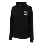 Women's SD Spear Alumni 1/4 Zip Sweatshirt-Black