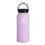 Hydro Flask 32 oz Wide Mouth Bottle-Lilac