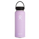 Hydro Flask 40 oz Wide Mouth Bottle-Lilac