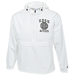 SDSU Aztec Calendar Packable Jacket-White