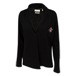 Women's SD Spear Cashmere Cardigan-Black