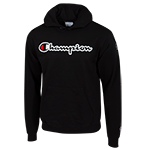 Champion Pullover Sweatshirt-Black