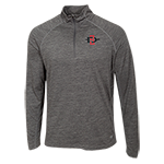 SD Spear 1/4 Zip Sweatshirt-Gray