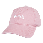 SDSU Adjustable Cap-Pink