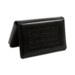 San Diego State Business Card Holder-Black