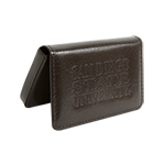 San Diego State Business Card Holder-Brown