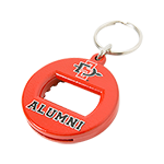 Alumni Bottle Opener Keytag-Red