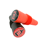 2-Pack SD Spear Bottle Stopper-Red/Black
