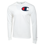 Champion Long Sleeve Tee-White