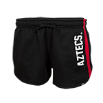 Women's Aztecs Shorts-Black