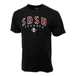 SDSU SD Spear Grandpa Tee-Black