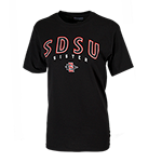 SDSU SD Spear Sister Tee-Black