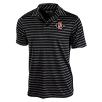 Under Armour SD Spear Striped Polo-Black