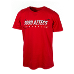 2019 Toddler Nike Pre-Season SDSU Aztecs Football Tee-Red