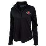 Women's Under Armour SD Spear 1/4 Snap Pullover-Black