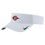 2019 Nike SD Spear Sideline Visor-White