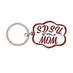 SDSU Mom Cloud Keytag