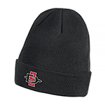 2019 Nike Sideline SD Spear Dri-Fit Beanie-Black