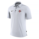 2019 Nike Sideline Team Issue Polo-White