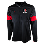 2019 Nike Sideline Coach 1/2 Zip-Black