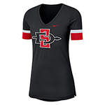 2019 Women's Nike Sideline Fan Top-Black