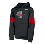 2019 Youth Nike Sideline Therma Hoody-Black