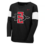 2019 Girl's Nike Sideline SD Spear Top-Black