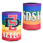 SDSU Rainbow Can Holder