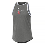 Women's Nike Aztecs High Neck Tank-Gray