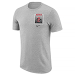 Nike Aztecs Marled Tee - Oxford Gray