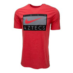 Nike Triblend SDSU Aztecs Tee - Red