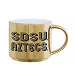 SDSU Aztecs Metallic Mug - Gold