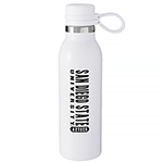 San Diego State University Aztecs H2GO Bottle-White