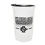 San Diego State University SD Spear Travel Tumbler - White