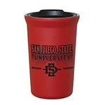 San Diego State University SD Spear Travel Tumbler-White