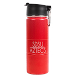 SDSU Aztecs Rugged Bottle-Red