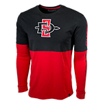 Under Armour SD Spear Tee-Red/Black