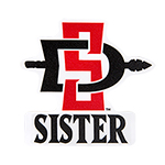 SD Spear Sister Decal-Red/Black