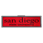 San Diego State University Decal-Red/Black