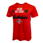 2019 Here to Stay Spirit Tee - Red