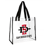 SD Spear San Diego State Clear Tote Bag