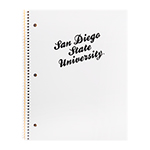 San Diego State University Notebook - White/Black