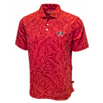 SD Spear Tommy Bahama Leafbacker Polo - Red