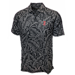 SD Spear Tommy Bahama Leafbacker Polo - Black