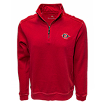 SD Spear Tommy Bahama 1/2 Zip - Red