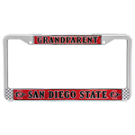 Grandparent License Plate Frame