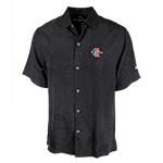 SD Spear Tommy Bahama Silk Camp Shirt - Black