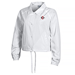 SD Spear Women's Coaches Jacket  - White